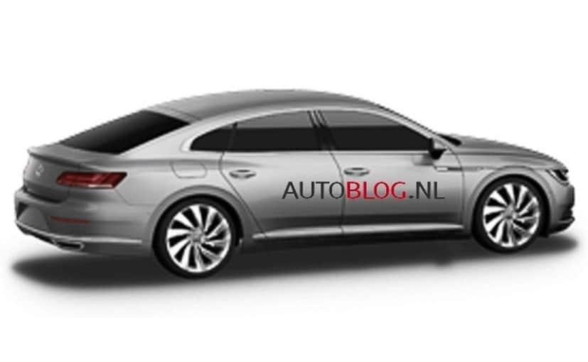 2018 Volkswagen Cc Official Images Leaked Ndtv Carandbike