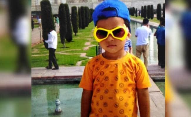 Delhi schoolboy run over by van that dropped him home