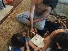 AbRam, Aryan, Suhana Coloring Together. Gauri Khan You Just Made Our Day