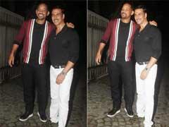 अक्षय कुमार ने रखी 'रुस्तम' की सक्सेस पार्टी, शामिल होने पहुंचे हॉलीवुड अभिनेता विल स्मिथ