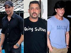 कमाई के मामले में दुनिया के टॉप 10 अभिनेताओं में शामिल हुए शाहरुख खान और अक्षय कुमार