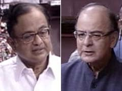 Arun Jaitley, P Chidambaram Spar Over Effects Of Demonetisation