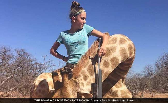 12-year-old girl faces online backlash for big game hunting photos