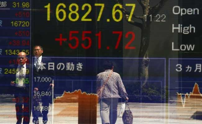 Asia Stocks Fall, Oil Creeps Up As Markets Ponder Fallout Of Mideast Tension