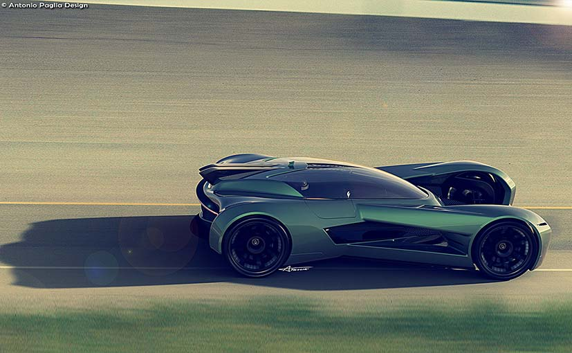 This Aston Martin Dbv Concept Car Is Certainly A Looker