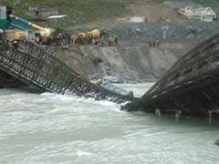 The Shocking Pictures Of A Bridge That Collapsed In Himachal Pradesh