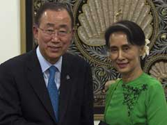 World Concerned About Rohingyas, Ban Ki-Moon Tells Myanmar