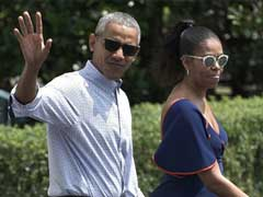 Obamas Head To Martha's Vineyard For Summer Vacation
