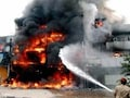 Three-Storey Building Collapses After Fire At Bike Showroom In Delhi