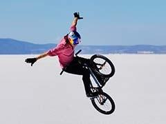 Riding The World's First BMX Salt Park 3,600 m Above Sea Level