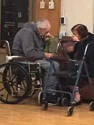 'Saddest Photo I Have Ever Taken': Elderly Couple Say Goodbye After 62 Years