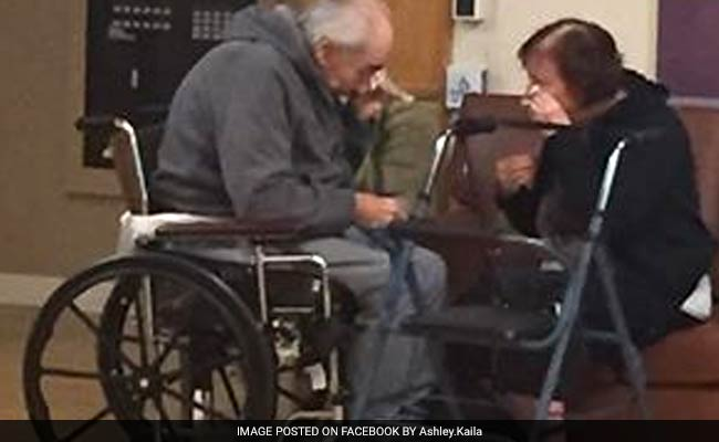 'Saddest Photo I Have Ever Taken': Elderly Couple Says Goodbye After 62 Years