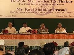 CJI टीएस ठाकुर ने पीएम मोदी के भाषण पर उठाए सवाल, कहा- इंसाफ पर कुछ नहीं बोले