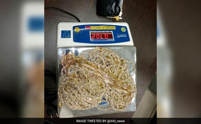 2.5 kg gold hidden in Air India flight toilet seized