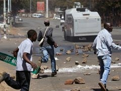Violence Erupts In Zimbabwe's Capital After Anti-Mugabe Rally