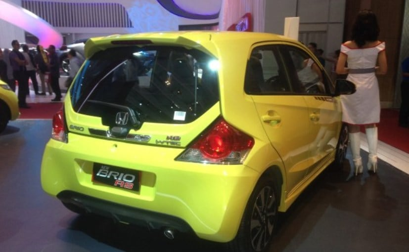 New Honda Brio RS Hatchback Showcased At 2016 Indonesia ...
