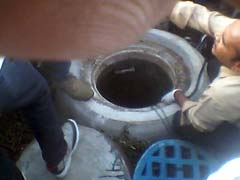 4 Labourers Die After Getting Trapped In Manhole In Hyderabad