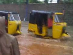 Morning's Downpour Claimed Seven Lives In Hyderabad