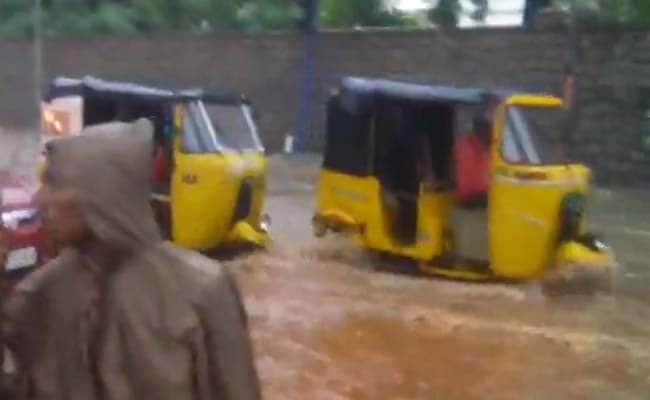 Seven killed as heavy rains batter Hyderabad