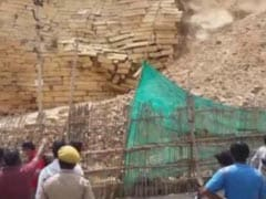 Watch: Wall Of 850-Year-Old Jaisalmer Fort Collapses