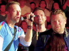 Coldplay Covers Nothing Compares 2 U With 'Old Band Member' James Corden