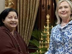 जयललिता ने हिलेरी क्लिंटन को प्रेरित किया : अन्नाद्रमुक के विधायक ने किया दावा