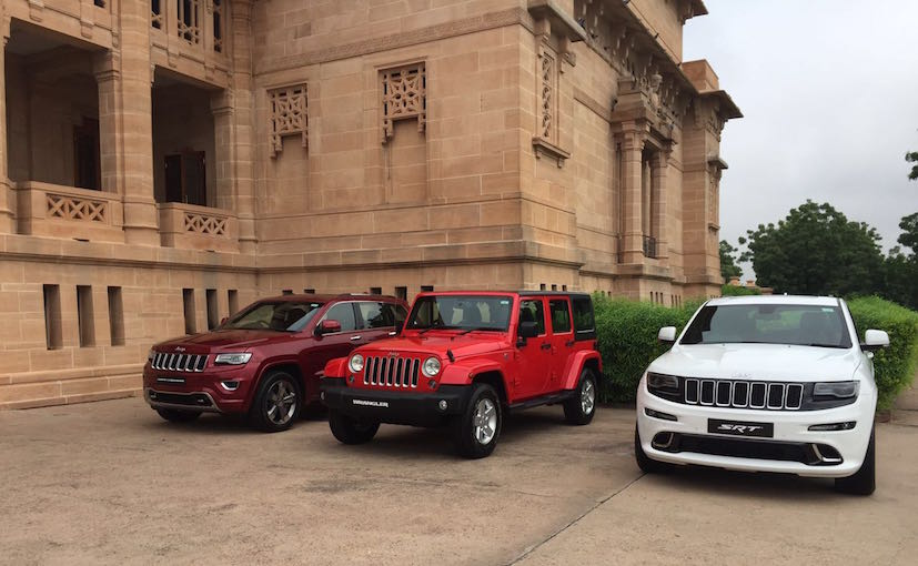 jeep grand cherokee and wrangler unlimited launched in india prices