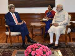 John Kerry Meets PM Narendra Modi In Delhi