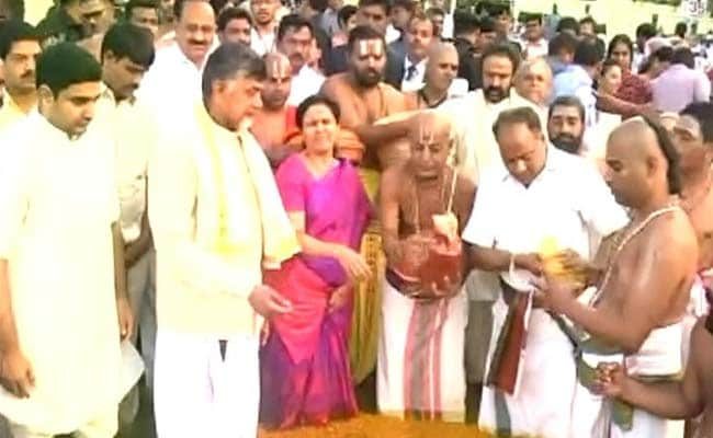 Krishna Pushkaram Commences With Traditional Fervour In Andhra Pradesh