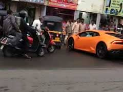 On Camera: Lamborghini, Driven By BJP Legislator's Wife, Hits Auto