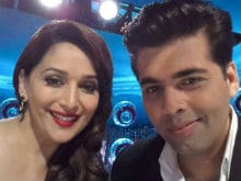 Madhuri, I Miss You on Jhalak Dikhhla Jaa, Says Karan Johar