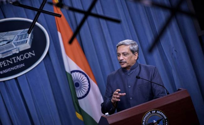 Sharing of military logistics on cards, Defence Minister leaves for US