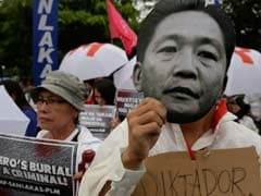 Ferdinand Marcos 'Hero' Burial Plan Sparks Philippines Protests