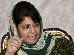If Kashmir Issue Is Not Resolved Under PM, It Will Never Be Resolved: Mehbooba Mufti