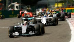 F1 2016: Rosberg Wins, Hamilton Finishes Third At The Chaotic Belgian GP