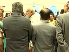 PM Modi, T S Thakur Display Bonhomie At President's 'At Home'