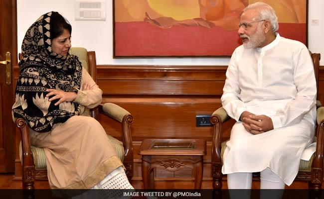 'Give Me One Chance,' Mehbooba Mufti Appeals To Protesters In Kashmir