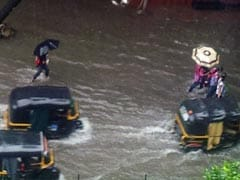 Heavy Rain In Mumbai; Road, Rail, Air Traffic Hit