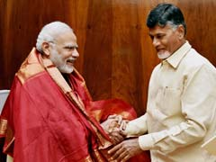 Chandrababu Naidu Meets PM, Raises Issue Of Special Status To Andhra Pradesh