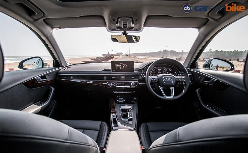 New Audi A4 Cabin