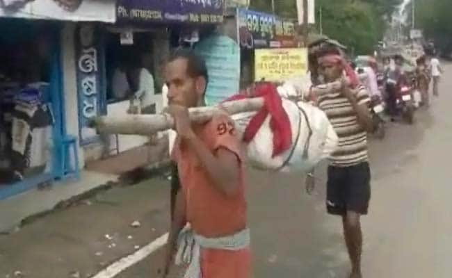 No Ambulance To Carry Body, Odisha Workers Break Woman's Bones, Stuff It In Bag