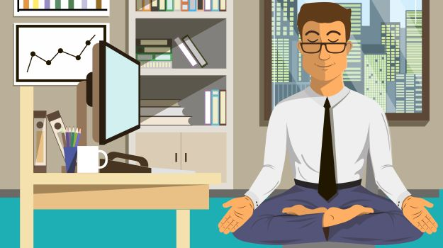 office yoga: simple exercises you can do right at your desk to