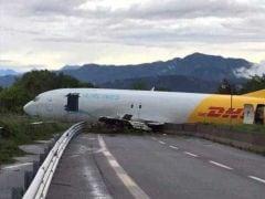 Plane Overshoots Runway at Italy's Bergamo Airport