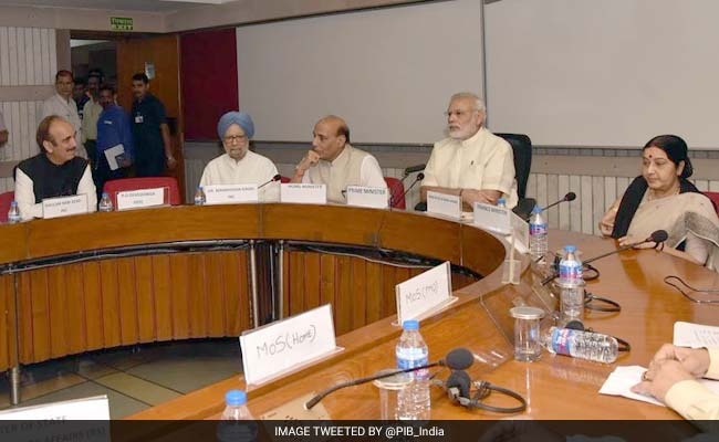 At All-Party Meeting On Kashmir, PM Modi Opens PoK Front