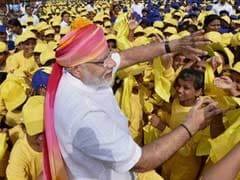 At Red Fort, Young India Swept PM Modi Off his Feet. Almost.