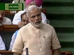 GST Delivers Us From Tax Terrorism, Says PM Narendra Modi In Lok Sabha