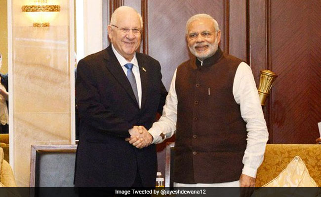 Israeli President Reuven Rivlin Arrives In Mumbai For 8-Day Visit