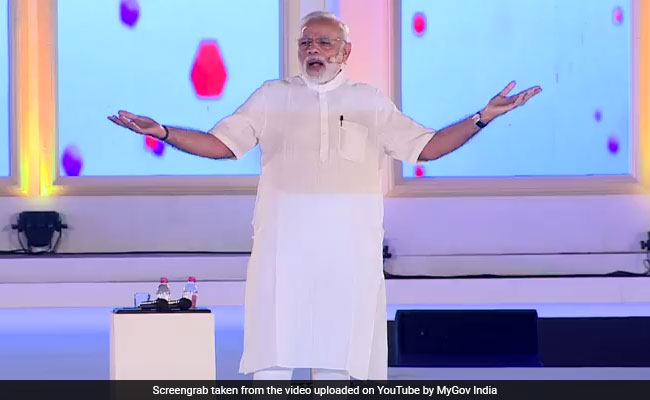 Prime Minister Narendra Modi said his government plans to develop 300 villages across the country.
