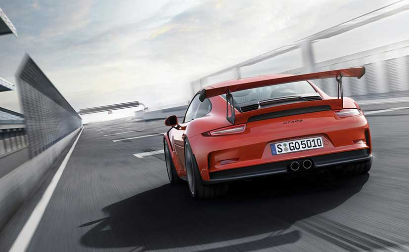 Porsche unveils 911 GT3 RS in India