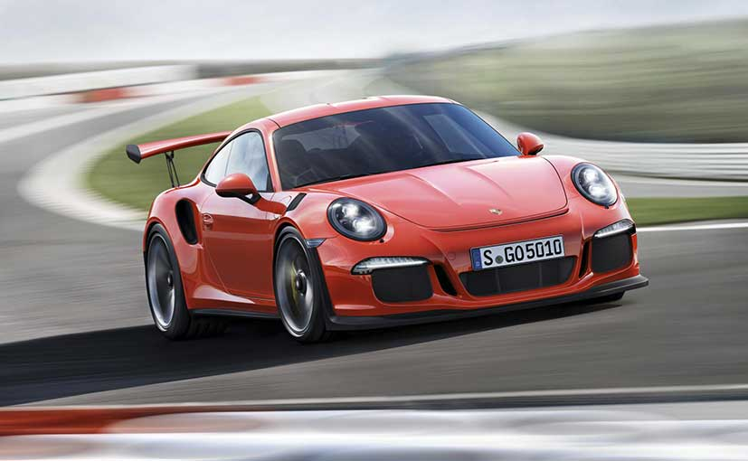 Porsche India Reveals The 911 GT3 RS Supercar In Bengaluru